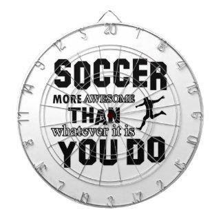Awesome Soccer Design Dart Boards