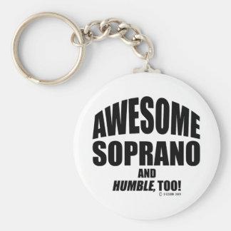 Awesome Soprano Key Chain
