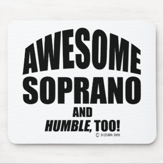 Awesome Soprano Mouse Pad