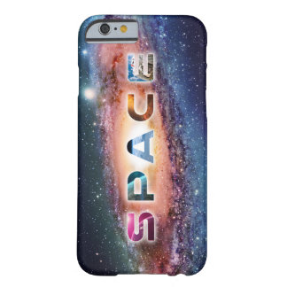 Awesome Space Text Barely There iPhone 6 Case