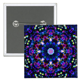 Awesome Spectacular 3D Kaleidoscope Image Pins