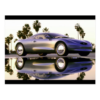 Awesome sport car postcards