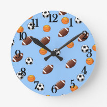 Awesome Sport Theme Design - Round Clock
