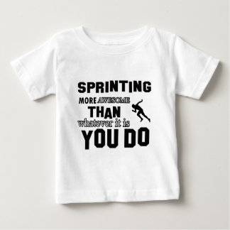 Awesome Sprinting Design T-shirt