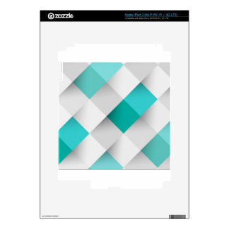 Awesome square pattern from huggit decals for iPad 3