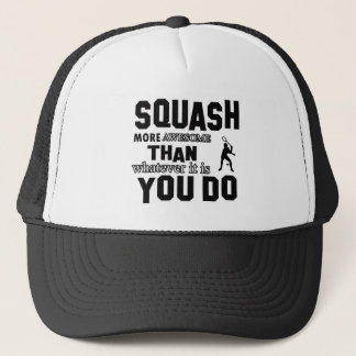 Awesome Squash Design Trucker Hat
