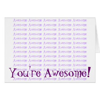 Awesome Stationery Note Card