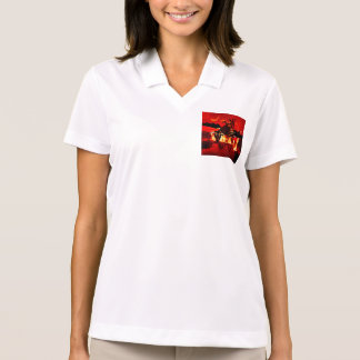 Awesome steam dragon polo shirt