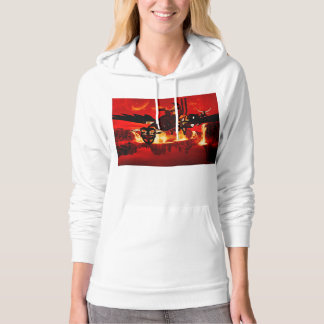 Awesome steam dragon pullover