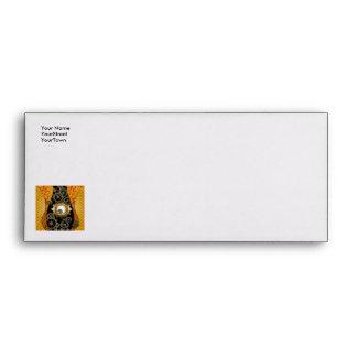 Awesome steampunk design envelope
