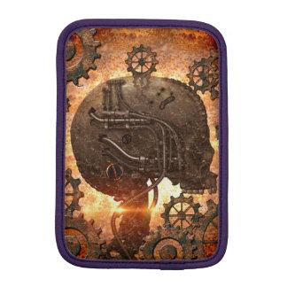 Awesome steampunk Skull iPad Mini Sleeve