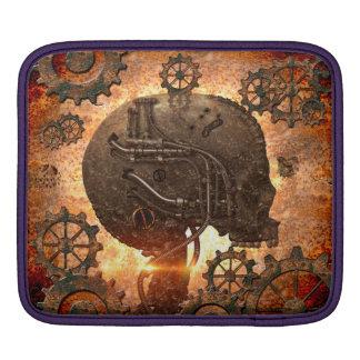Awesome steampunk Skull iPad Sleeves