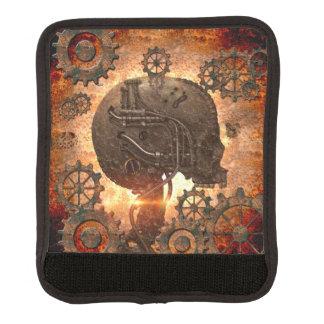Awesome steampunk Skull Luggage Handle Wrap