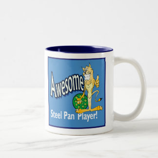 Awesome steel pan player mug