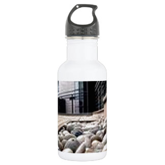 Awesome stone way design stainless steel water bottle