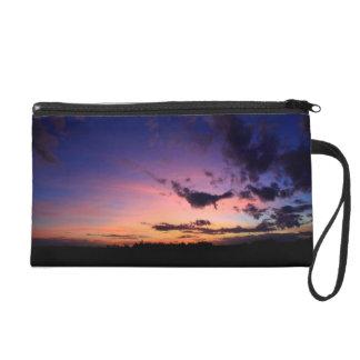Awesome Sunset Bagettes Bag Wristlets