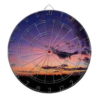 Awesome Sunset Dart Board