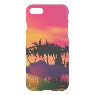 Awesome sunset in pink and gold iPhone 7 case
