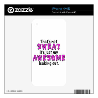 Awesome Sweat Decals For iPhone 4S
