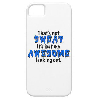 Awesome Sweat iPhone 5 Cases