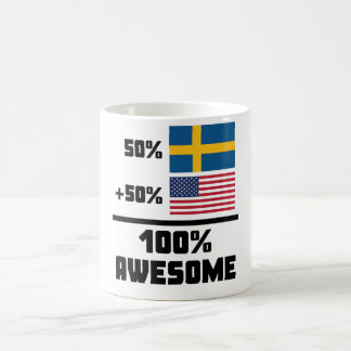 Awesome Swedish American Coffee Mug