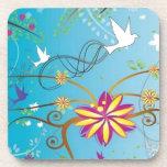 Awesome swirl design coaster