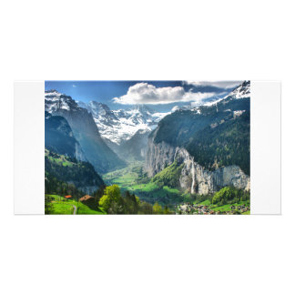 Awesome Switzerland Alps Card
