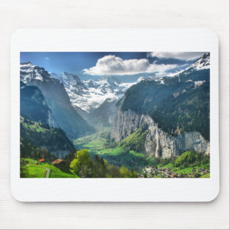 Awesome Switzerland Alps Mouse Pad