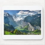 Awesome Switzerland Alps Mouse Pads