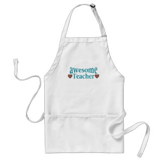 awesome Teacher Adult Apron