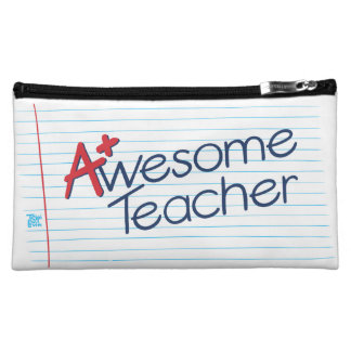 Awesome Teacher Cosmetic Bag