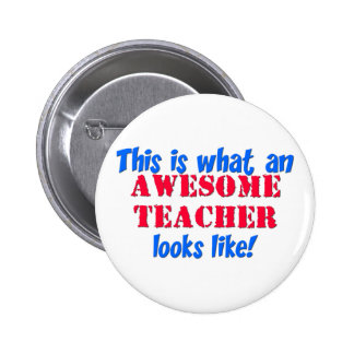Awesome Teacher Pin