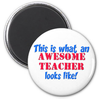 Awesome Teacher Refrigerator Magnets