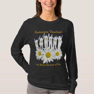 Awesome Teacher Thank You Shirt with Kids and Dais