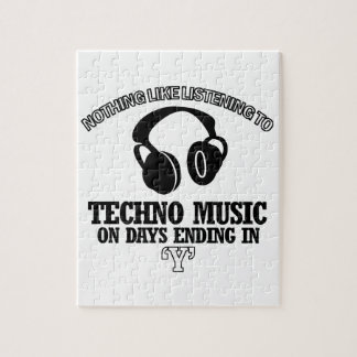 awesome Techno music designs Puzzles