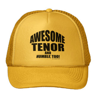 Awesome Tenor Trucker Hat