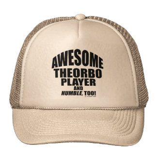Awesome Theorbo Player Trucker Hat