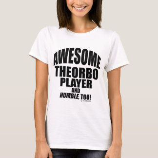 Awesome Theorbo Player T-Shirt