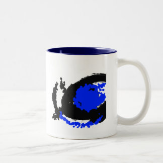 awesome thing by rach, I have my eye on you... | m Two-Tone Coffee Mug