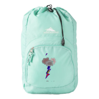 Awesome Thunderstorm Cloud and Lighting Art Backpack