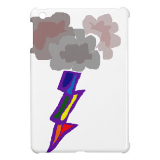 Awesome Thunderstorm Clouds and Lightning Art Case For The iPad Mini