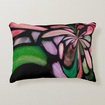 McTiffany Tiffany Aqua Awesome Tiffany Inspired Accent Pillow