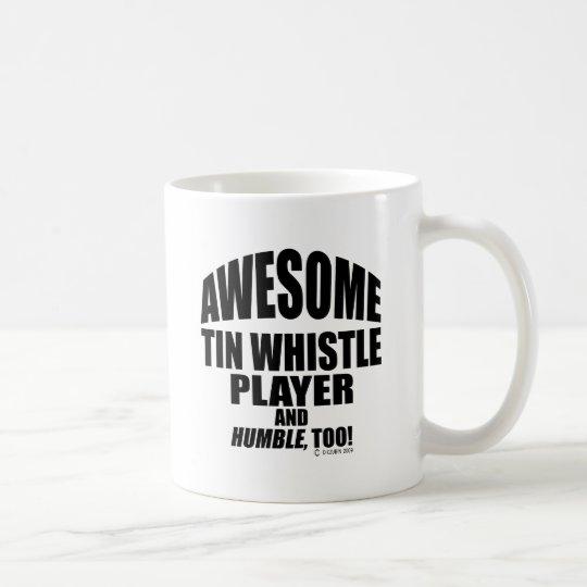Awesome Tin Whistle Player Coffee Mug