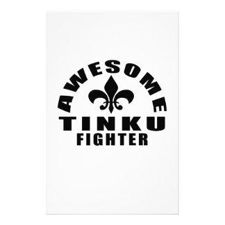 AWESOME TINKU FIGHTER STATIONERY