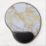 """Awesome trendy modern faux gold glitter marble gel mouse pad<br><div class=""""desc"""">Awesome trendy modern faux gold glitter marble texture image, shining glow yellow gold glitter abstract strokes, white grey faux marble stone, special occasions, texture, Shapes, design, messy, craft, artwork, illustration, custom, young, decorative, modern, creative, summer bright colors, fashion, unique, fresh, luxury, chic, beautiful, pretty, cute, art, popular, awesome, stylish, image....</div>"""