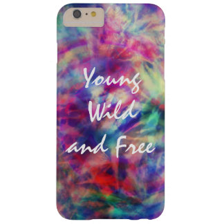 Awesome trendy tribal tie dye young wild and free barely there iPhone 6 plus case