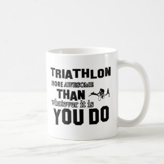 Awesome Triathlon designs Coffee Mug