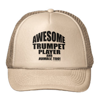 Awesome Trumpet Player Trucker Hat