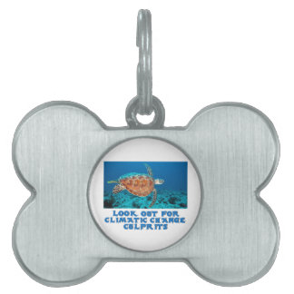 awesome Turtle designs Pet ID Tag