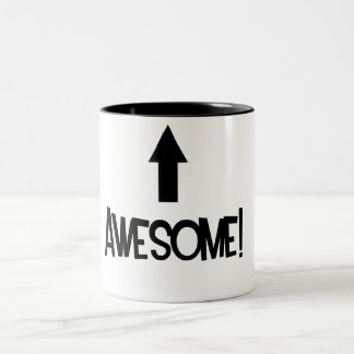 Awesome! Two-Tone Coffee Mug